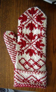 O Canada mittens, designed for the Vancouver 2010 Winter Games
